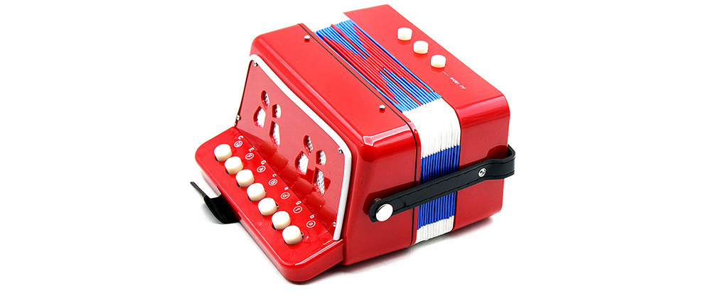 Buy 7 Key Accordion Small Size Toy Children Educational