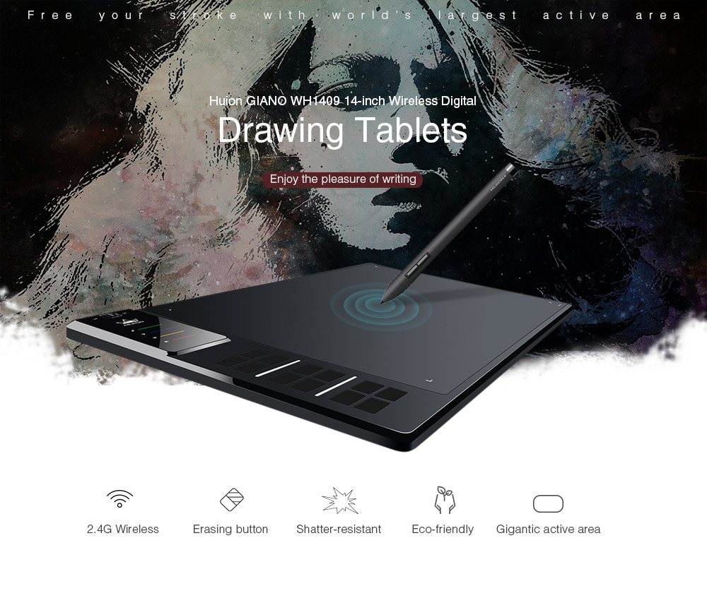 Huion WH1409 User Manual Huion