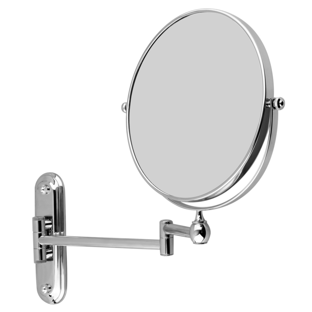 Two Side Extending Wall Mounted Mirror Bathroom Shaving
