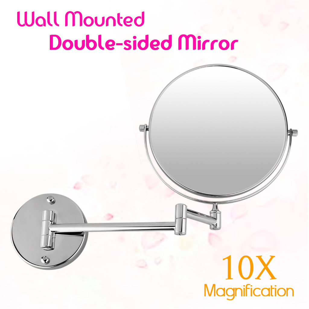 Item Description Wall Mounted Double Side 8inch 10x Magnification Mirror