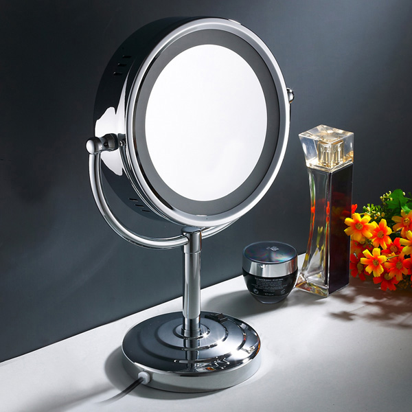 vanity mirror on stand. Item specifics 10x Magnification 8 5  Double Sided Makeup Cosmetic Mirror W LED