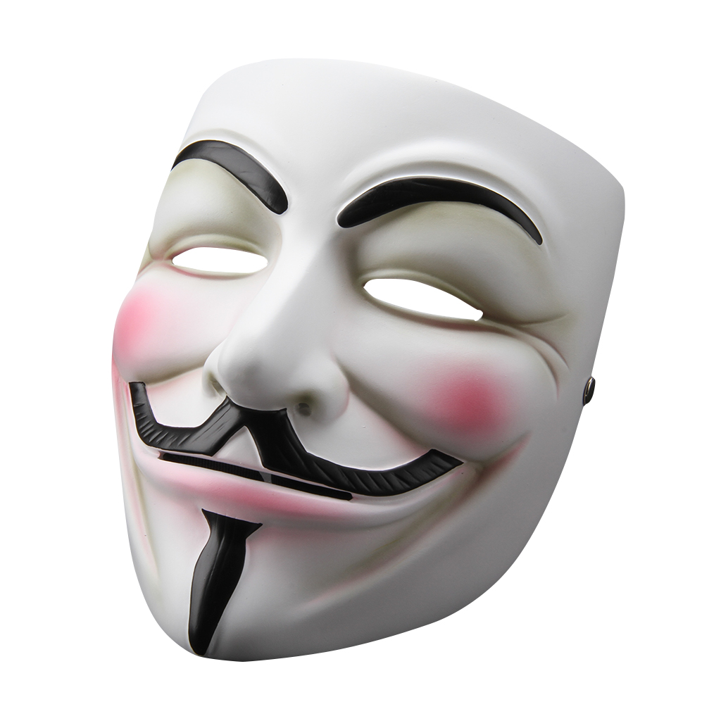 Us V For Vendetta Mask Anonymous Guy Fawkes Fancy Dress