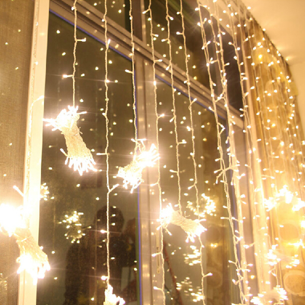 White String Curtain Lights Curtain Menzilperde Net