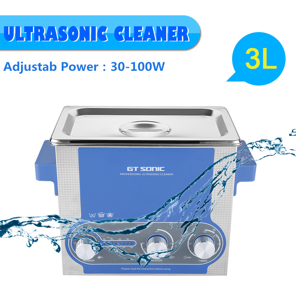 400ml2l 3l 6l Digital Ultrasonic Cleaner Ultra Sonic Bath Cleaning Generator Circuit Gt 100w 220v Feature Power Adjustable From 30 100optimized Regulation For Special And Laboratory Applications Power30