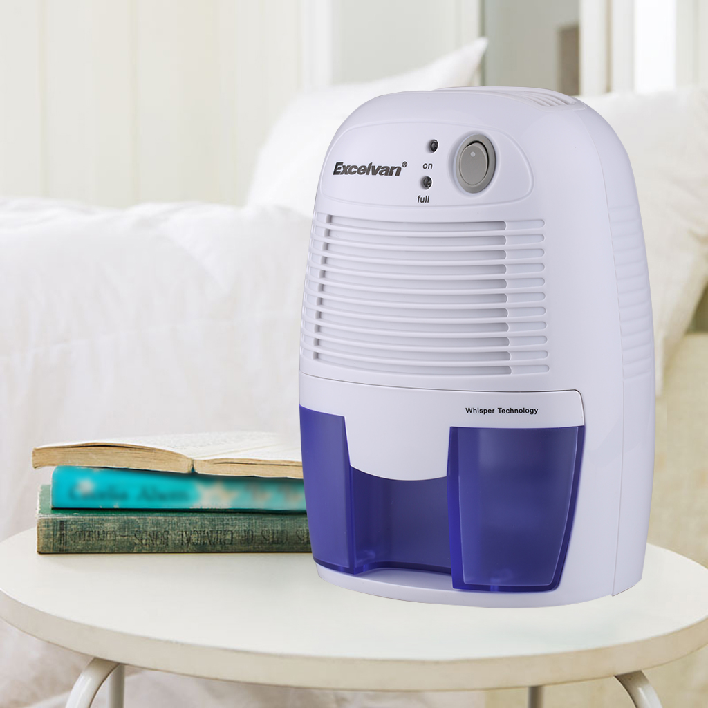 Excelvan 500ml Mini Air Dehumidifier Portable Dryer Home Kitchen Garage Damp Ebay