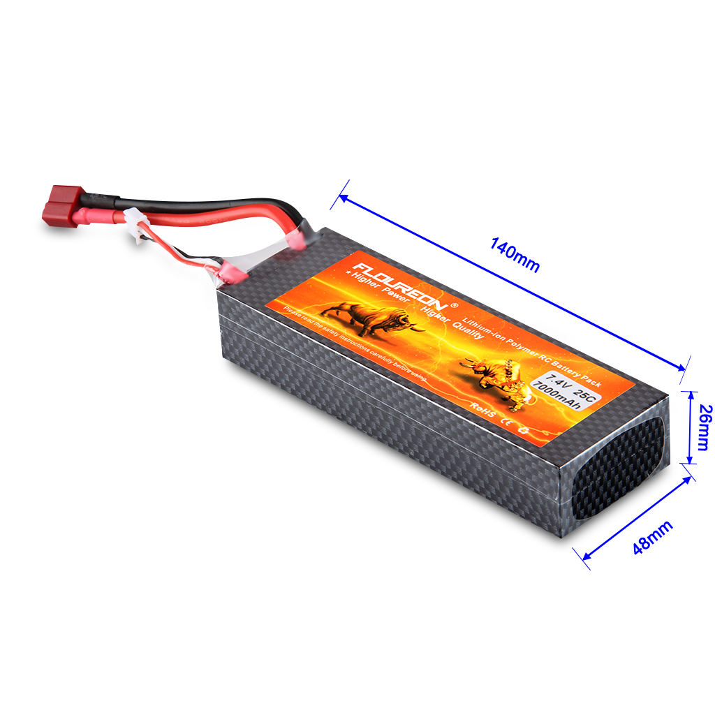 2s 7 4v 7000mah 25c Lipo Battery For Airplane Helicopter