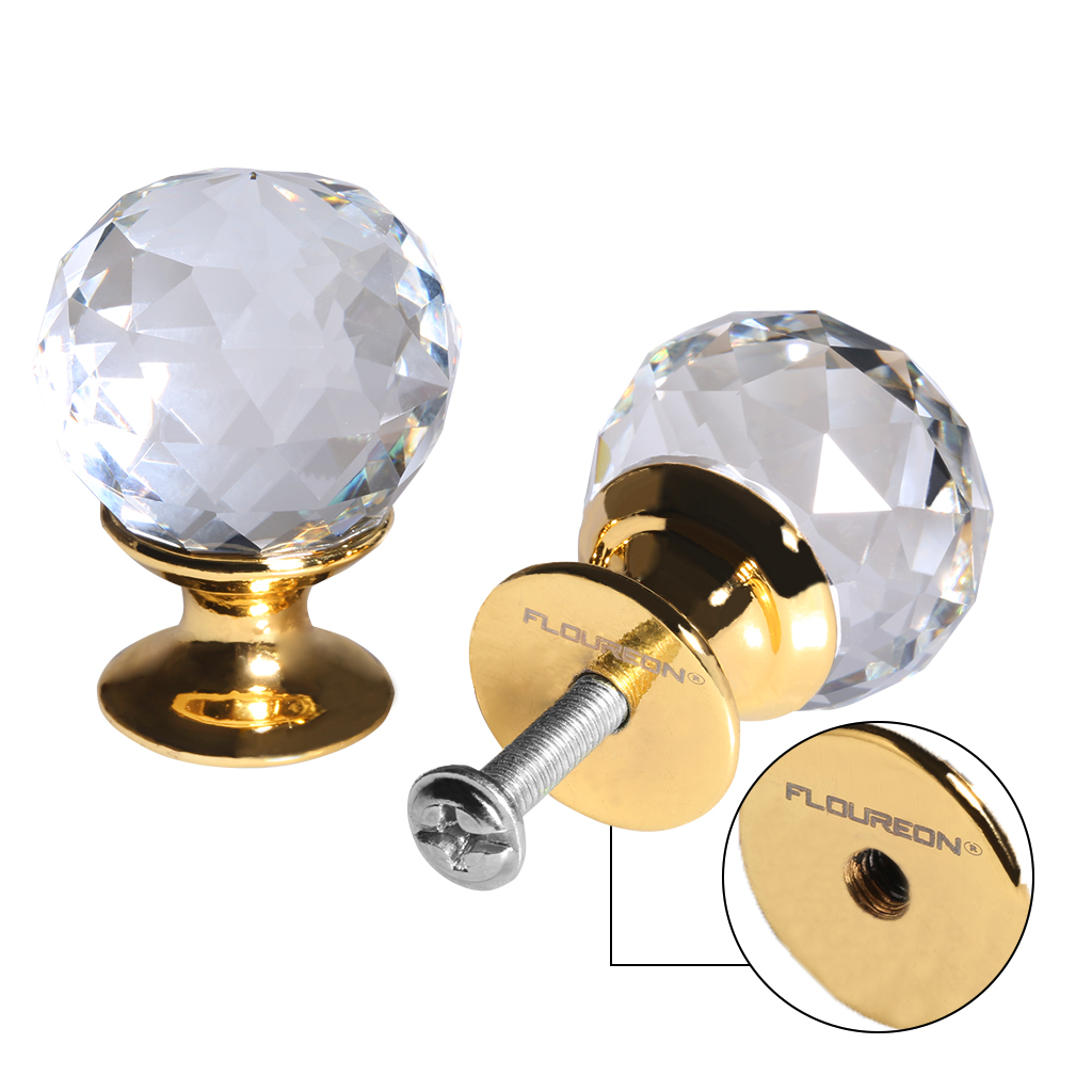 This Small Crystal Knob Can Have A Magical Effect In Decorating A Room.  Suitable For The Door Of The Drawer, Cabinet, Cupboard, Wardrobe, Etc. The  Crystal ...