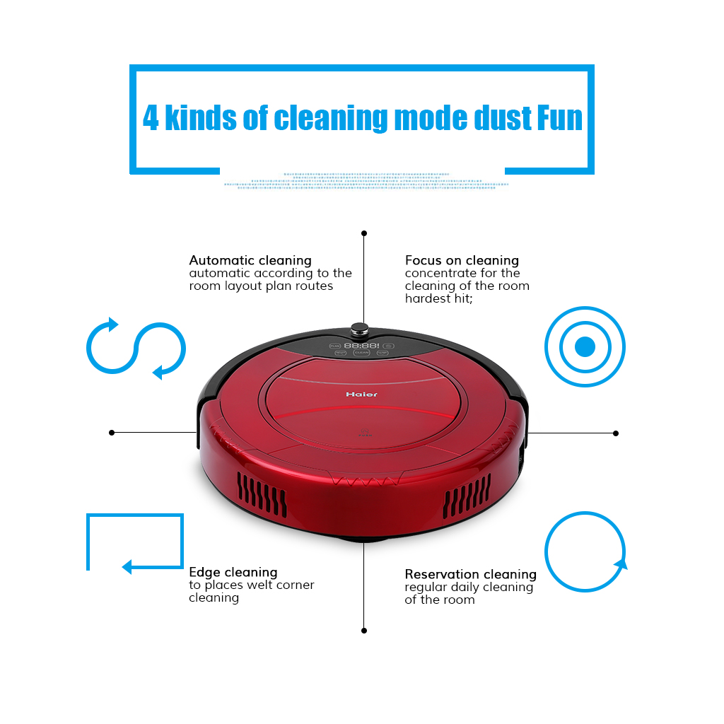 Haier T322 Pathfinder Vacuum Cleaner Smart Cleaning Robot