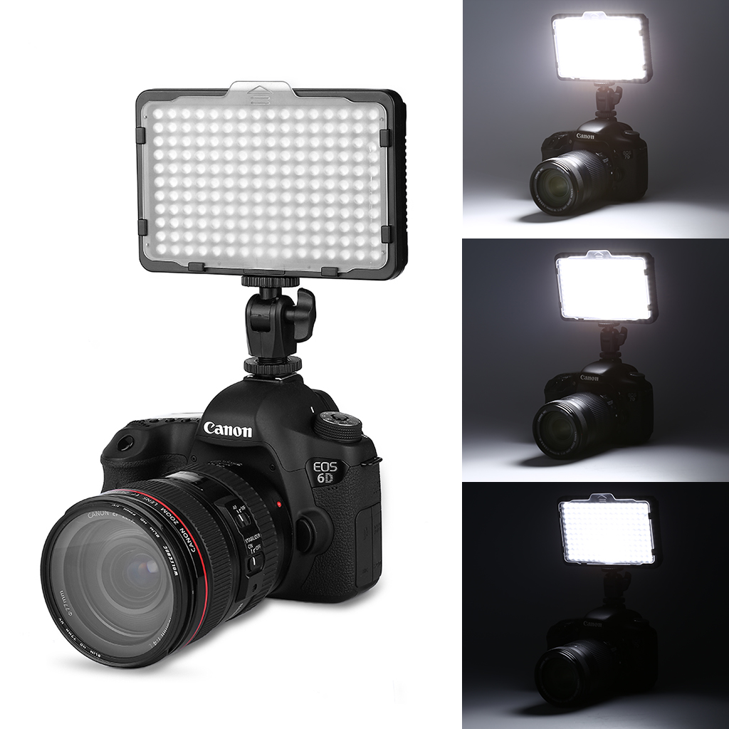 Details About Craphy Pt 176s Ultra Compact Led Video Light Dimmable Panel For Dslr Camera
