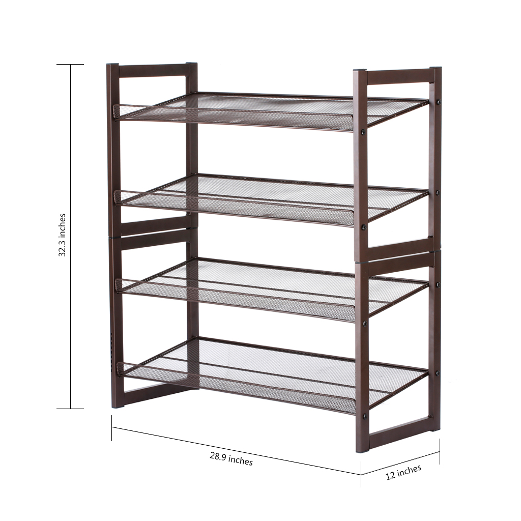 3 4 5 6 7 Multi Tier Wire Shelving Rack Adjustable