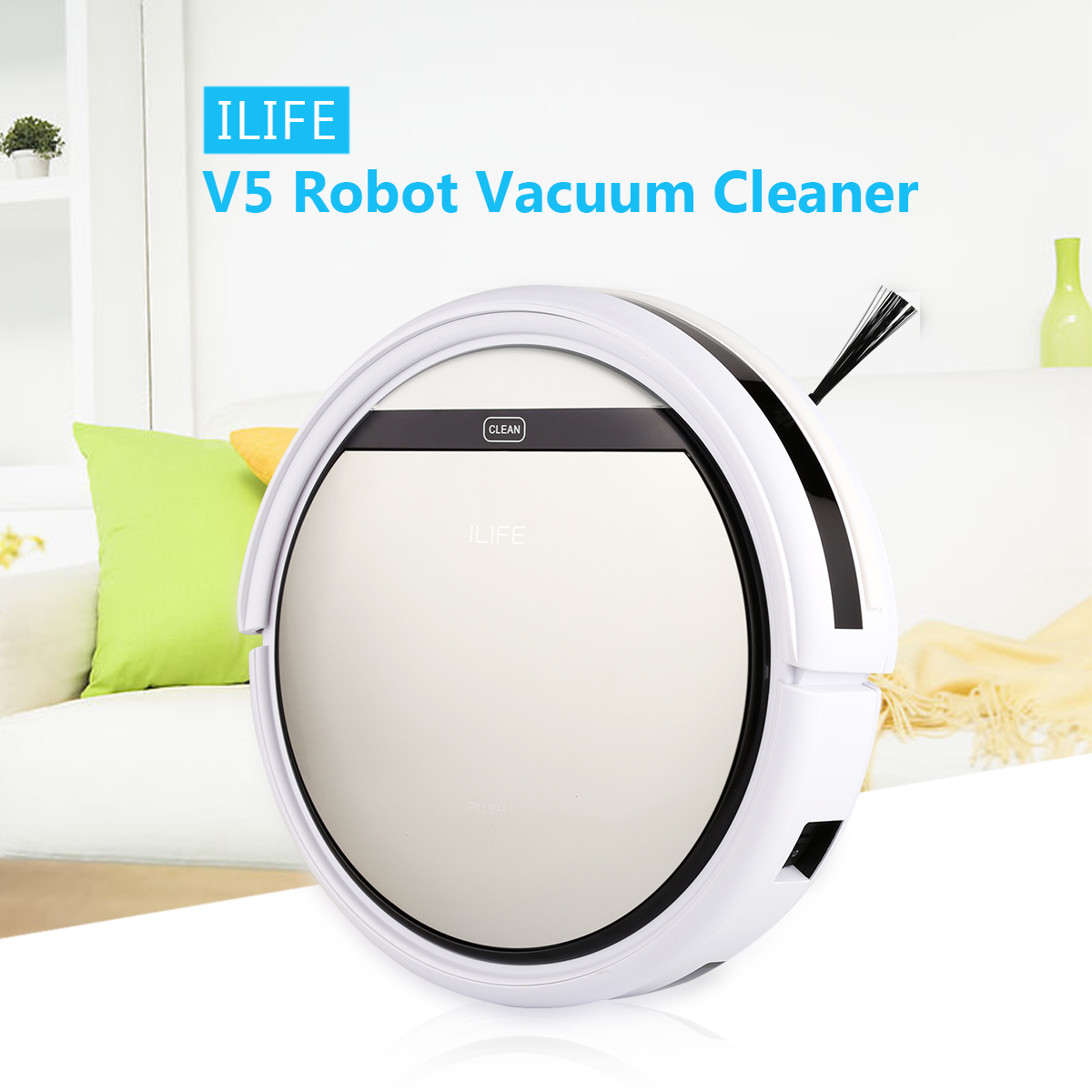Back To Search Resultshome Appliances Hot Sale Battery Home Cleaning Robot Mute Design Smart Sweeping Robot Floor Dirt Dust Hair Automatic Cleaner Electric Vacuum Cleane Price Remains Stable Vacuum Cleaners
