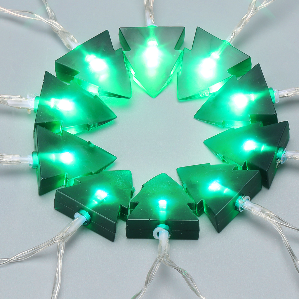 Hanging Outdoor Lights Without Trees: 20 LED Christmas Pine Tree String Lights Wedding Xmas