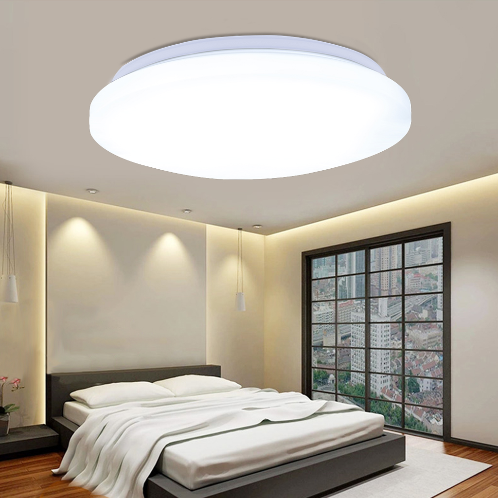 Details about led ceiling down light 14 ultra thin flush mount kitchen lamp home fixture