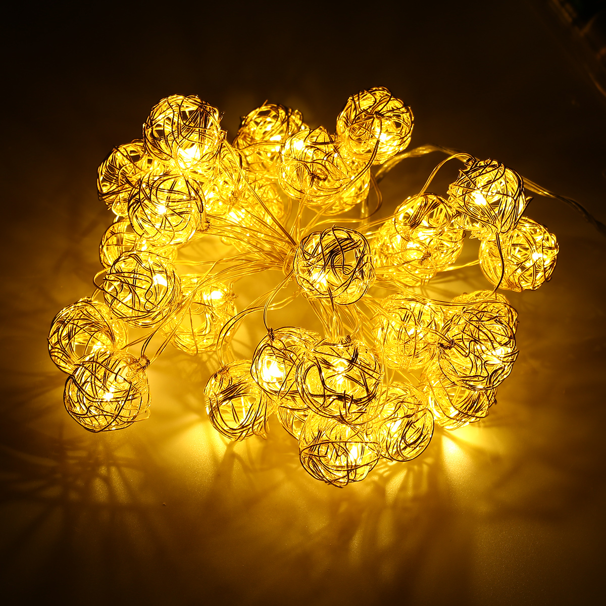 3M LED Ball Globe Fairy String Lights Party Indoor Outdoor Decor ...