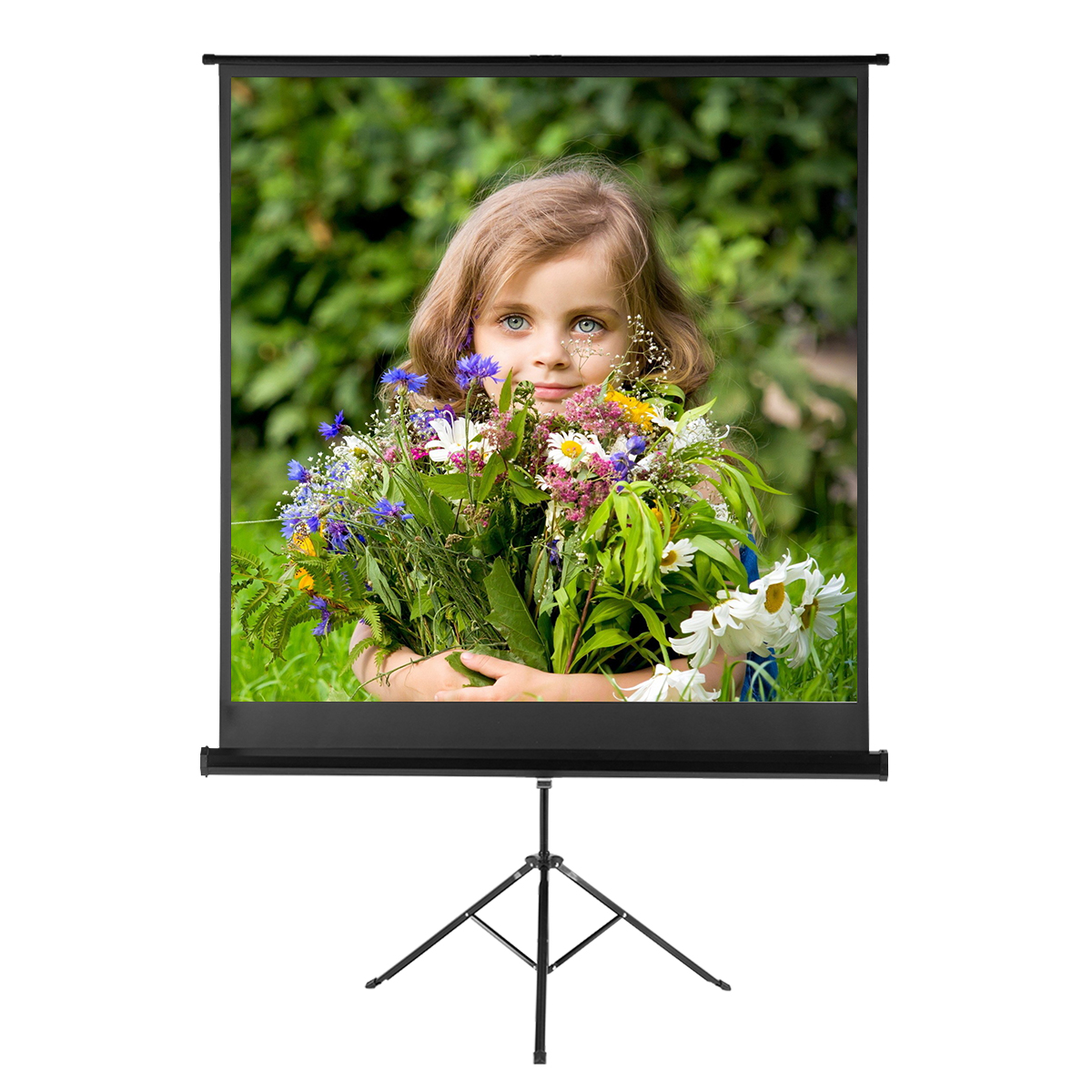 "100""//120""//70/""X70/"" 1:1//4:3//16:9 HD 1080P Projector Screen Video Movie Projection"