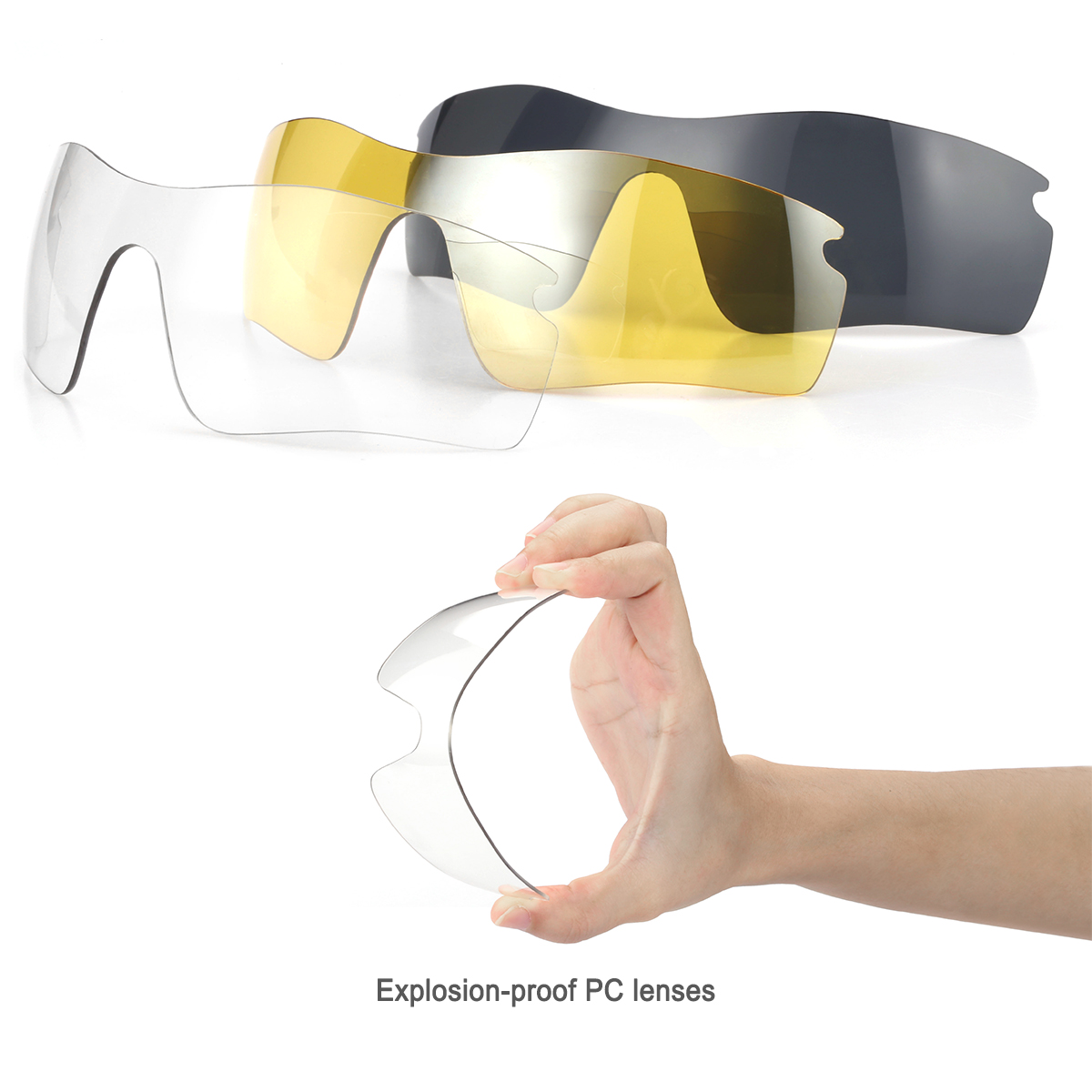 6107a0d898 1 SP108 cycling eyewear frame 1 discolores lens 1 gain light lens 1 polarized  lens 1 myopia frame 1 test card 1 hang rope 1 glass case 1 glass bag