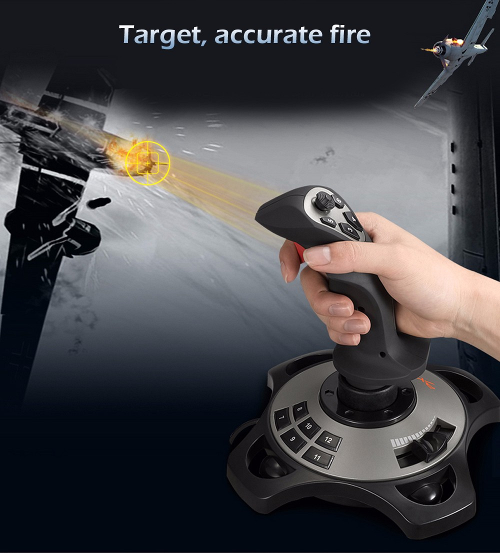 Pxn Pro 2113 Wired 4 Axles Flying Game Joystick Simulator Controller 8 Way Switch Specifications Features