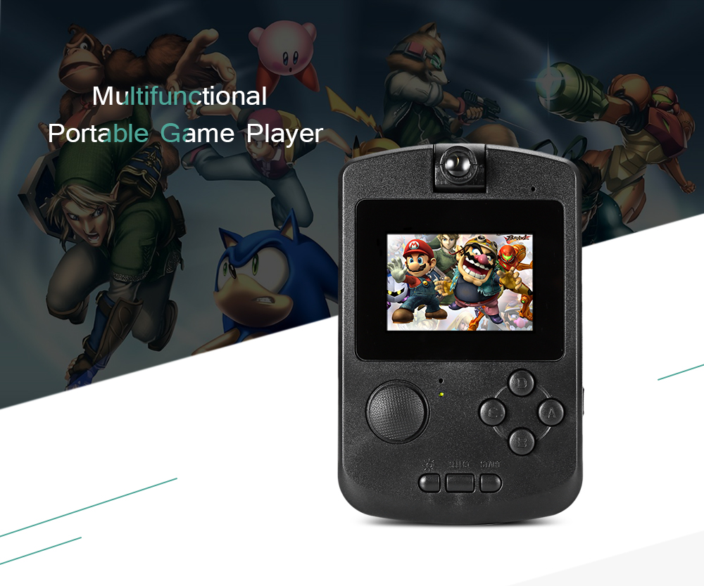 Portable Exhibition Game : Bit multifunction portable handheld video game console