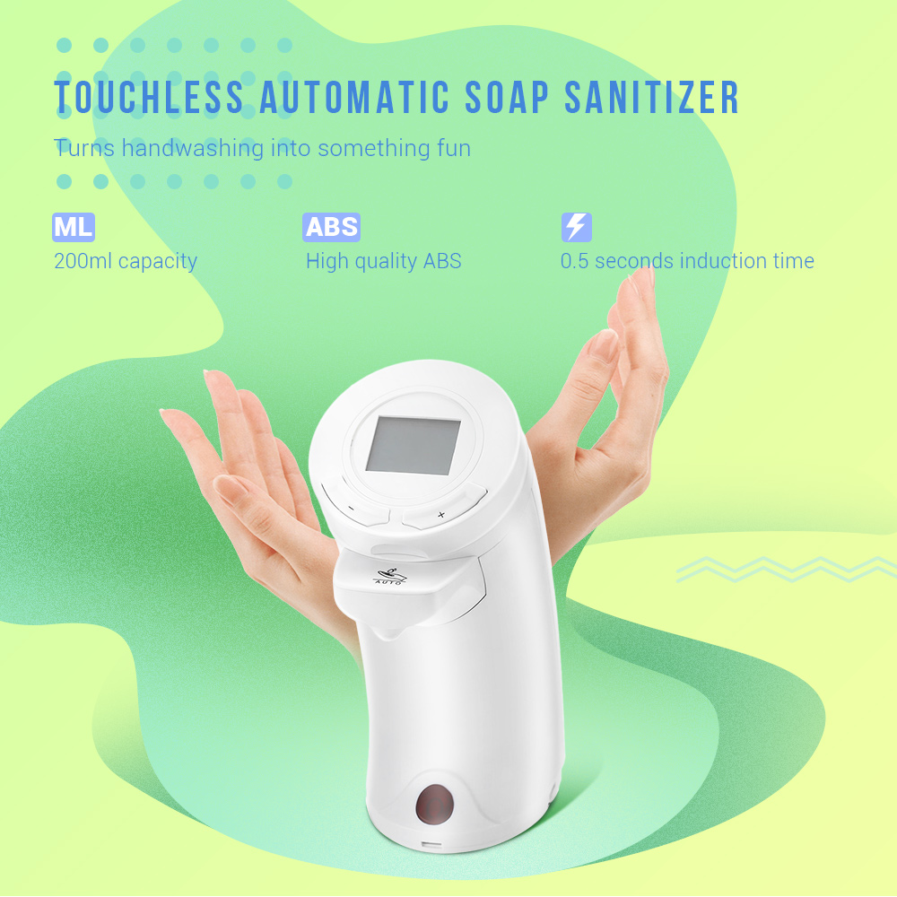 Ad 04 250ml Automatic Touchless Soap Sensor Hand Washing