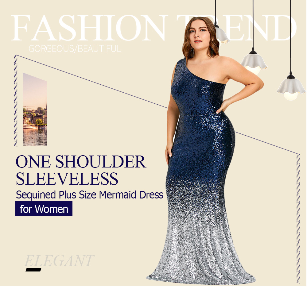 Sexy Women Formal Prom Long Sequin Dress Evening Party Cocktail Long ... 2af70157bab1
