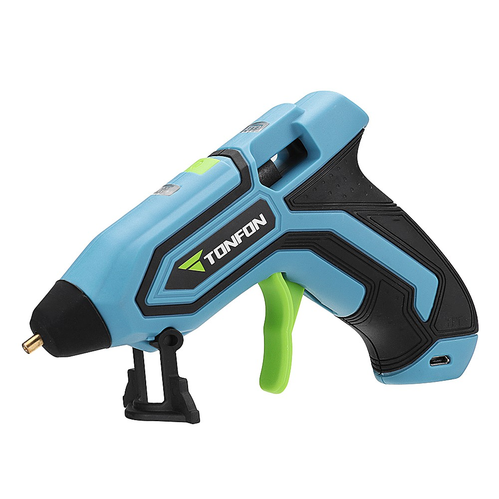 Details about Wireless Hot Melt Glue Gun For Industrial/Home High  Temperature Rechargeable Kit
