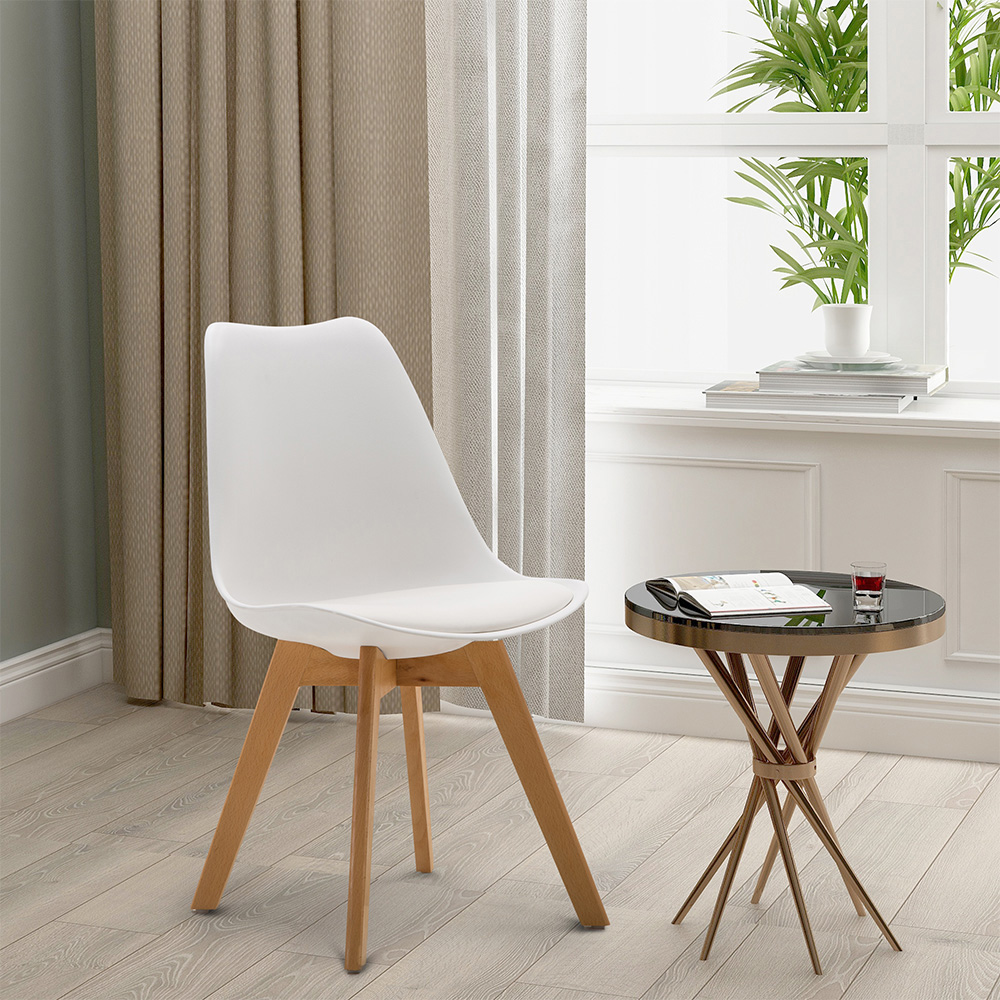 Set Of 4 Dining Room Chair Modern Style Comfortable Chair