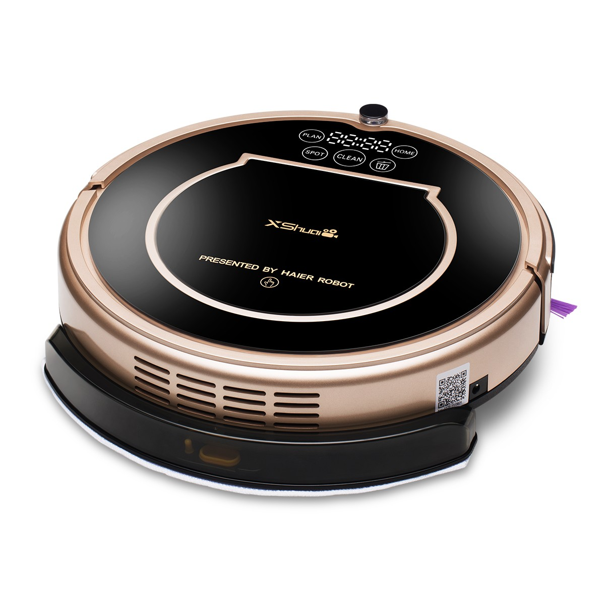 Details about Haier XShuai Wifi Alexa Voice Control Self Charging Smart Robot Vacuum Cleaner
