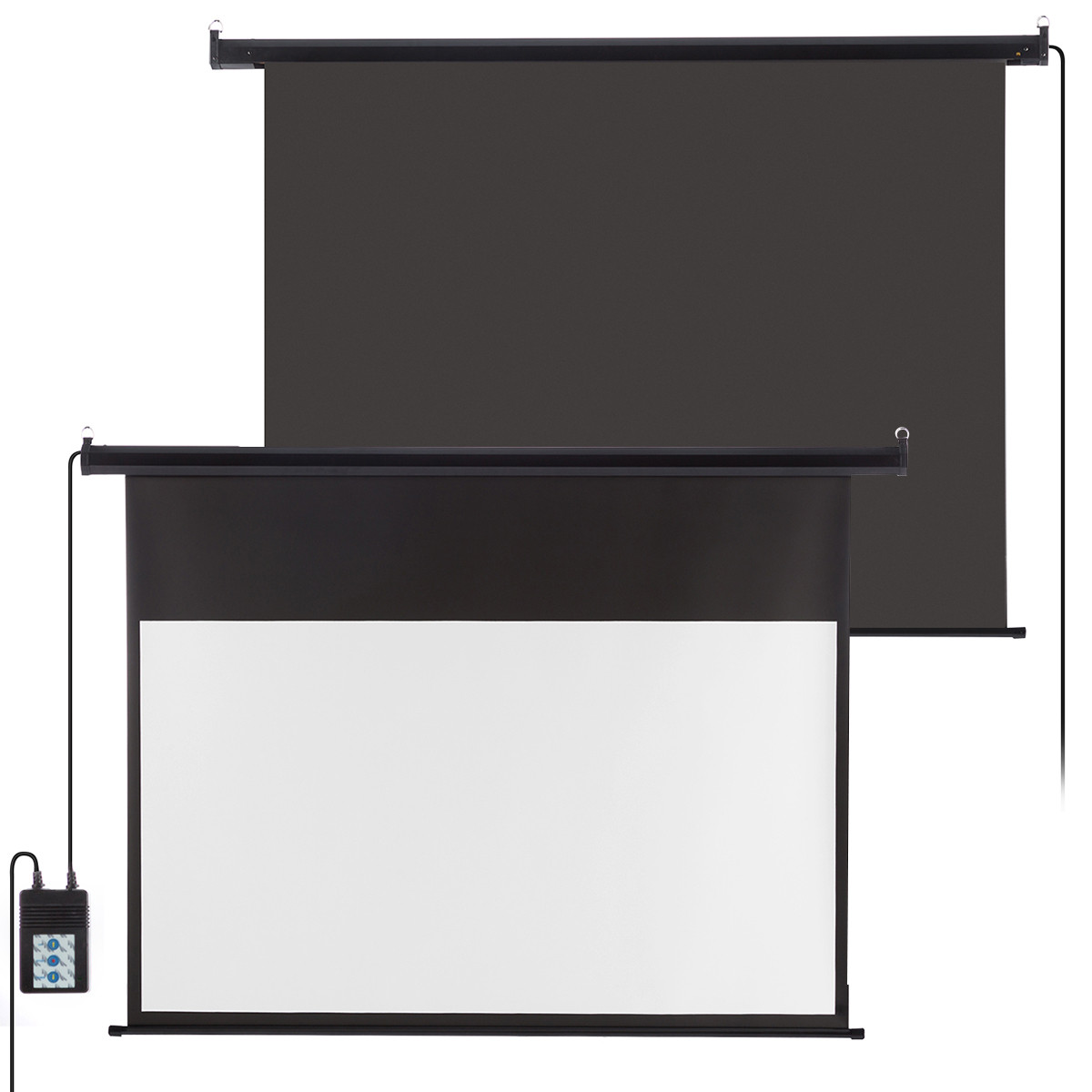 100 electric motorized projector projection screen hd for 100 inch motorized projector screen