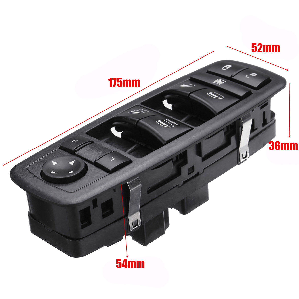 Quad Cab Power Master Window Switch For 2009 2012 Dodge: Power Window Door Switch Driver Side For Dodge Ram 2009