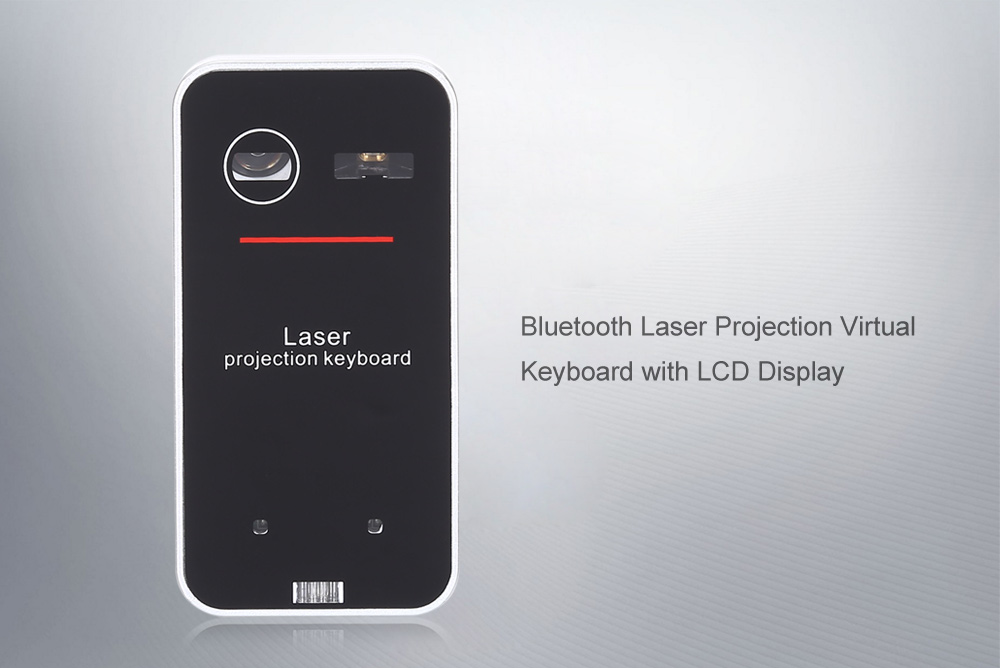 Details about Bluetooth Laser Projection Virtual Keyboard Mouse Function  Voice Prompt Keypad