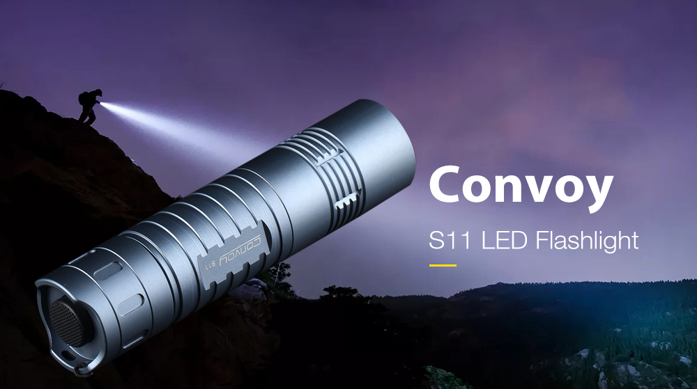 Details about Convoy S11 Mini 20W 2400lm 3A 4 Light Modes LED Flashlight  18650 /26650 XHP50 2