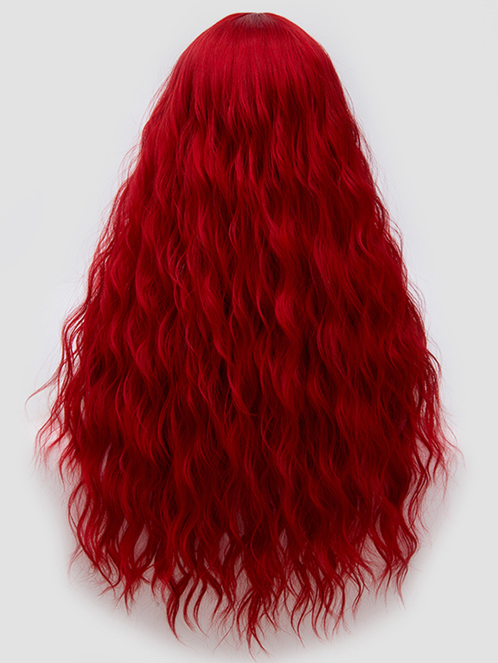 Beautiful and fashionable long straight style wig is a good choice for parties, cosplay, Halloween, Christmas, costumes, masquerades.