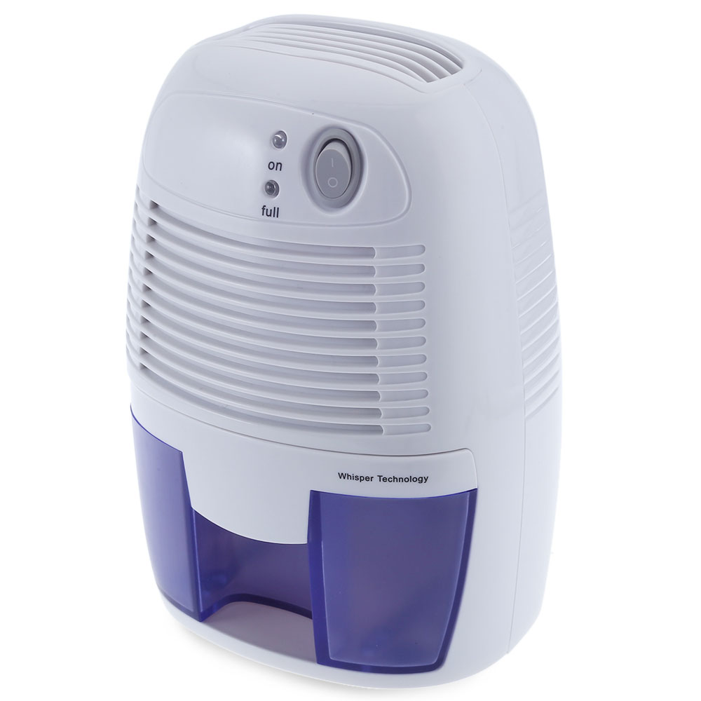 500ml electric mini dehumidifier air dryer moisture absorber abs body homeoffice ebay for Small dehumidifier for bedroom