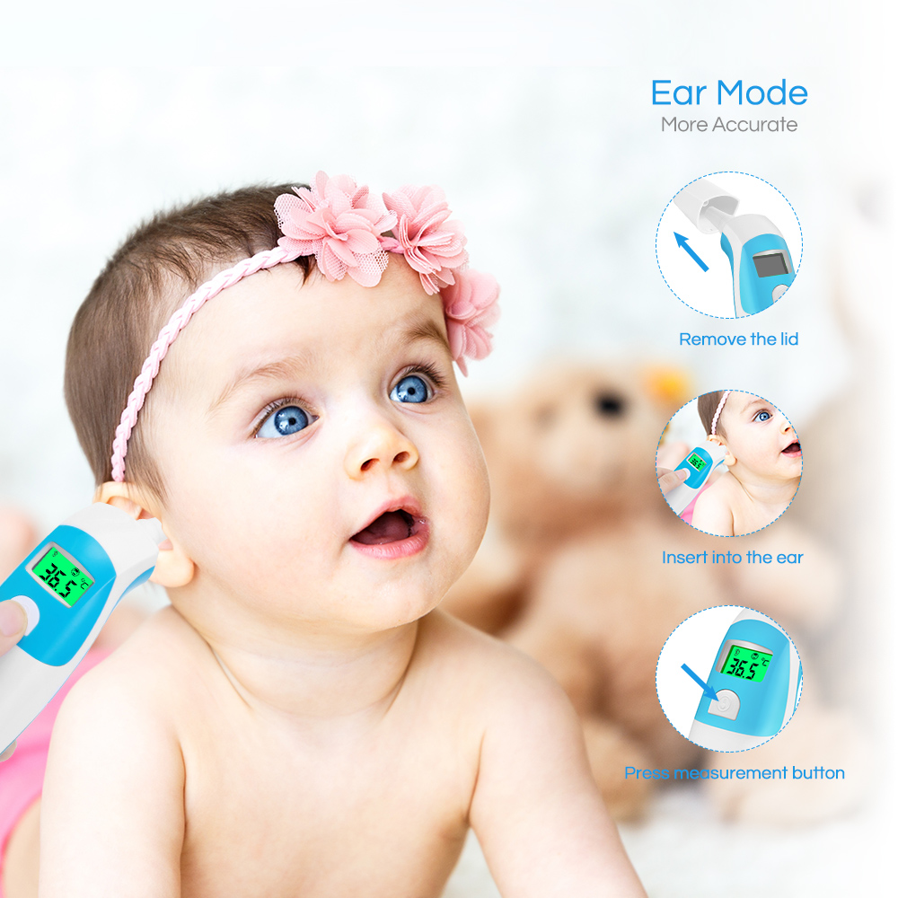 Fever Indicator High Accuracy A201 Digital Baby Medical Infrared Thermometer