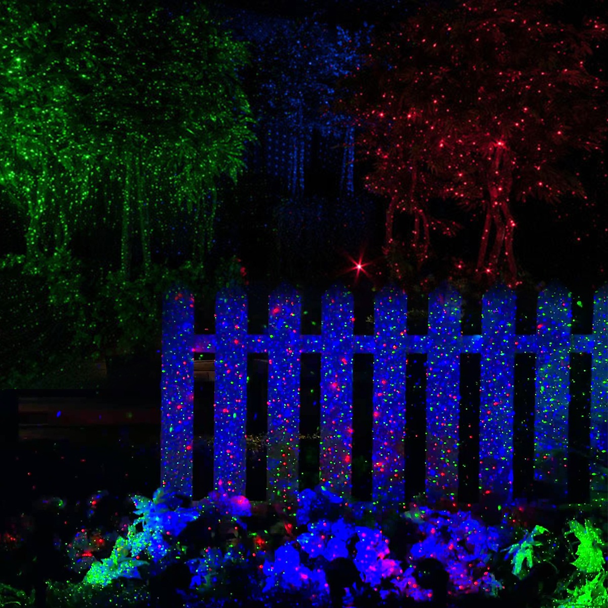 rgb laser projektor garten au enbeleuchtung weihnachten strahler w fernbedienung ebay. Black Bedroom Furniture Sets. Home Design Ideas