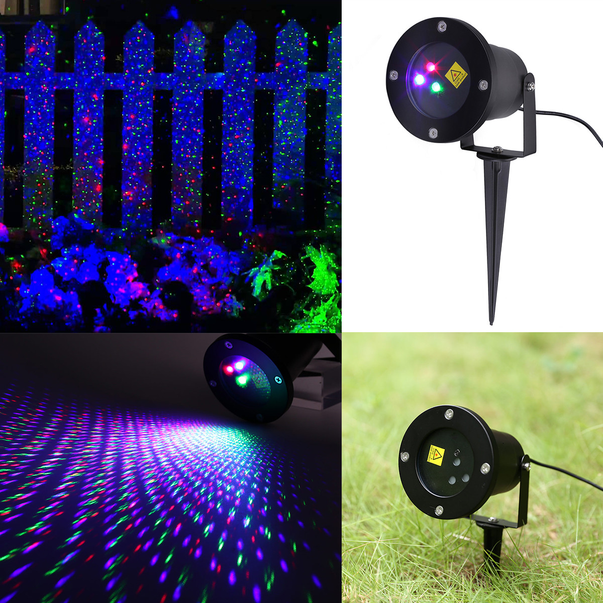 Outdoor rgb moving laser led projector light christmas - Large bulb exterior christmas lights ...
