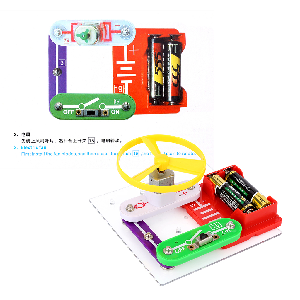 Kids Science Educational Toy Electronics Discovery Smart Diy Electronic Circuits For This Beginners Kit Can Help Learn Basic And Components Knowledges Stimulate Their Interest In