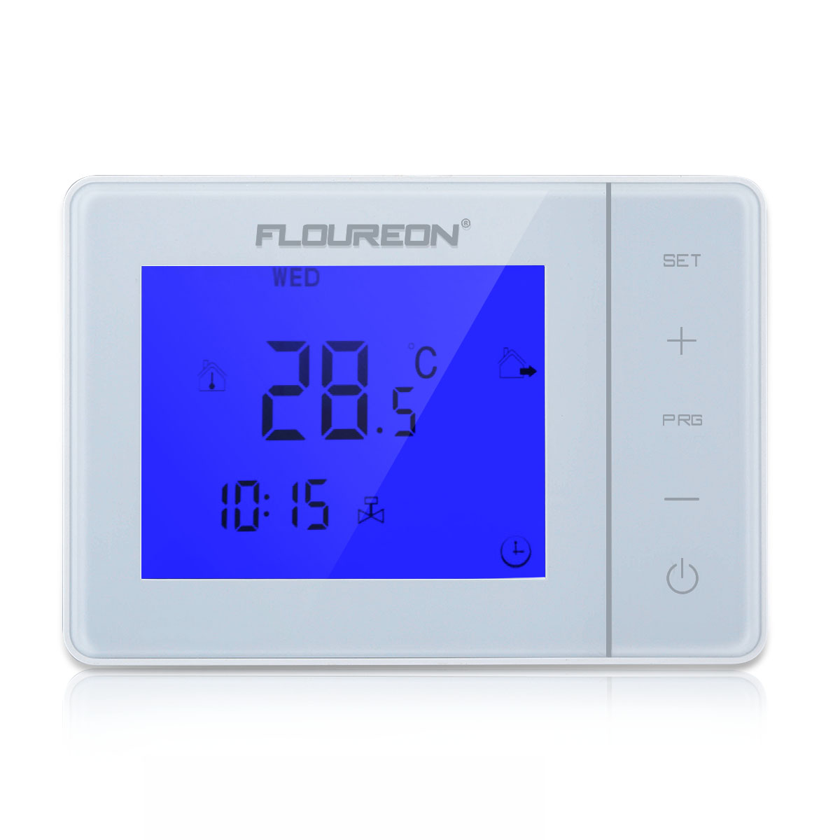 floureon fu bodenheizung raumthermostat digitale elektrische temperaturregler ebay. Black Bedroom Furniture Sets. Home Design Ideas