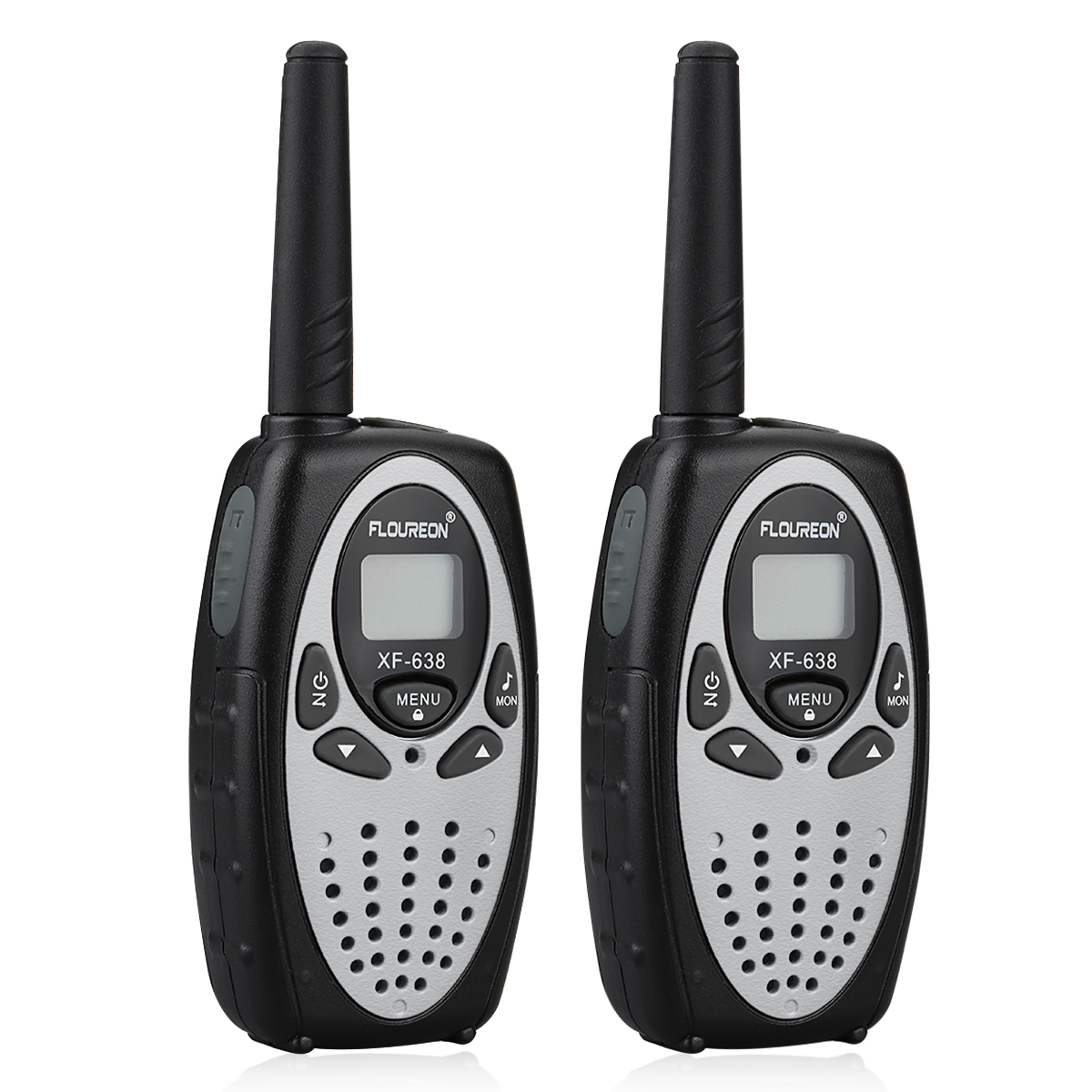 2er 8 kanal hand funkger t walkie talkies set pmr uhf 3km 5km reichweite telefon ebay. Black Bedroom Furniture Sets. Home Design Ideas