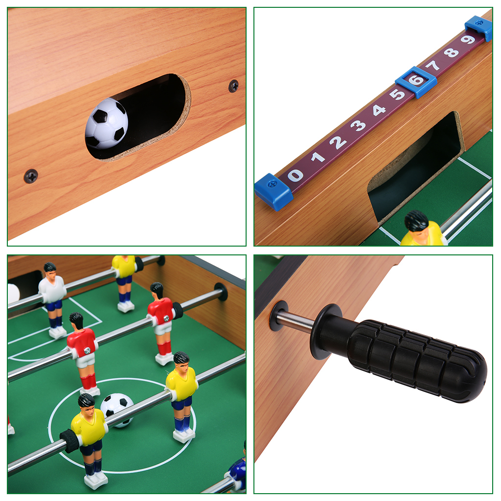 Quick, Easy Assembly Soccer Game Table, And Score Markers For Each Goal. *  360°rotated Built In Soccer Figures, 4 Rows, 3 Players Each Row, 2 Rows For  Each ...