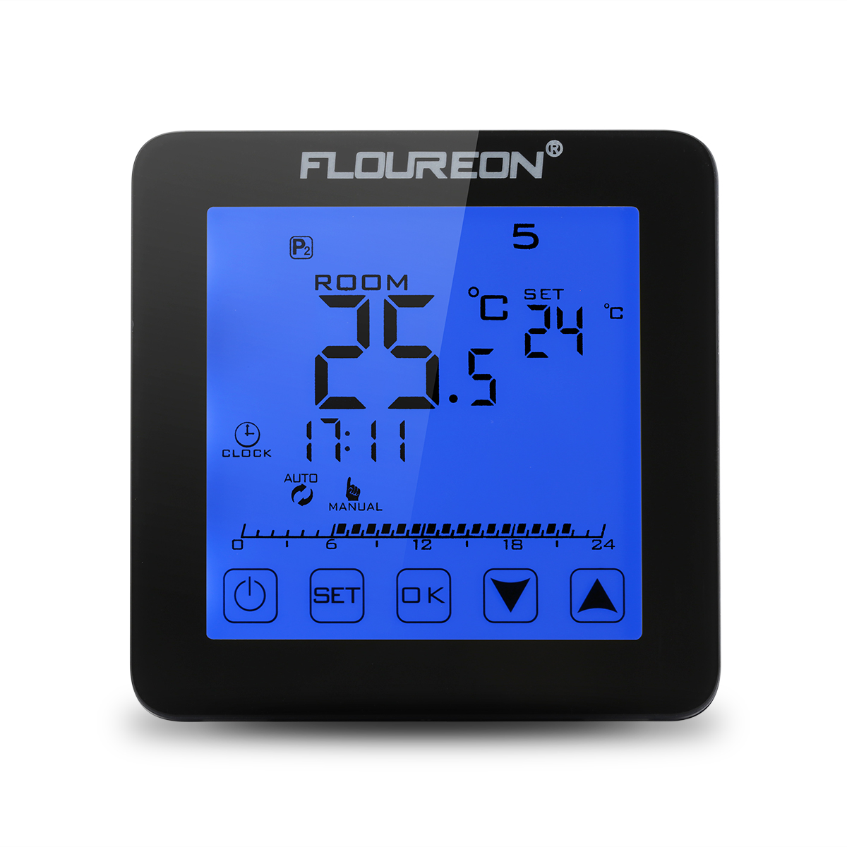 lcd digital raum touch thermostat heizen k hlen temperaturregler bodenf hler 16a ebay. Black Bedroom Furniture Sets. Home Design Ideas