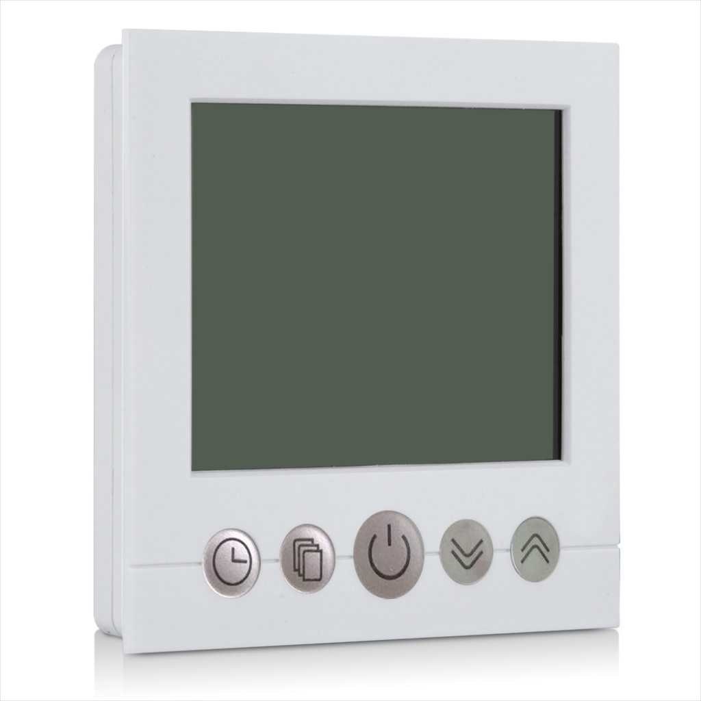 lcd 16a digital raumthermostat thermostat fu bodenheizung programmierbar regler ebay. Black Bedroom Furniture Sets. Home Design Ideas