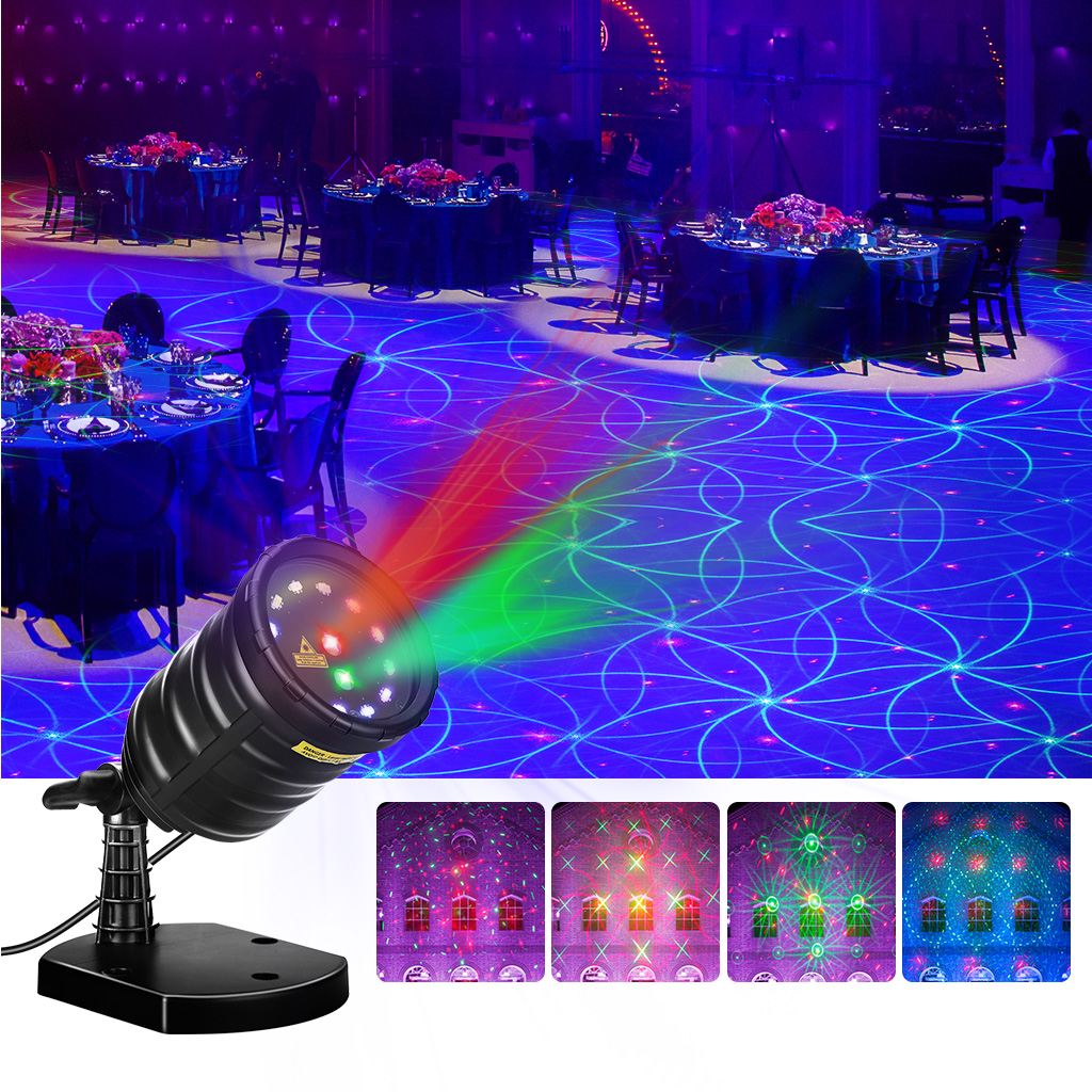 Waterproof Laser Light Projector Remoter Control Timer For Christma Garden With Remote Suaoki Red Green Star Blue Pink Background Christmas Xmas Holiday Party