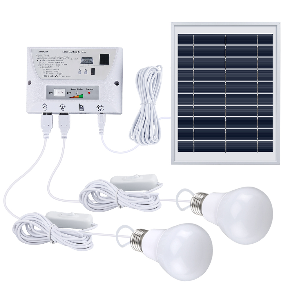 PRODUCT DESCRIPTION Hassle Free Solar Lighting System