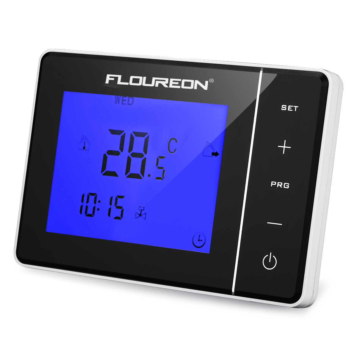 1 10stk digital lcd ntc thermostat fu bodenheizung temperaturregler bodenf hler ebay. Black Bedroom Furniture Sets. Home Design Ideas