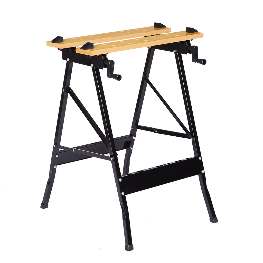 Admirable Details About Workbench Portable Folding Table Lightweight Large Surface Work Shop Tool 331Lbs Lamtechconsult Wood Chair Design Ideas Lamtechconsultcom