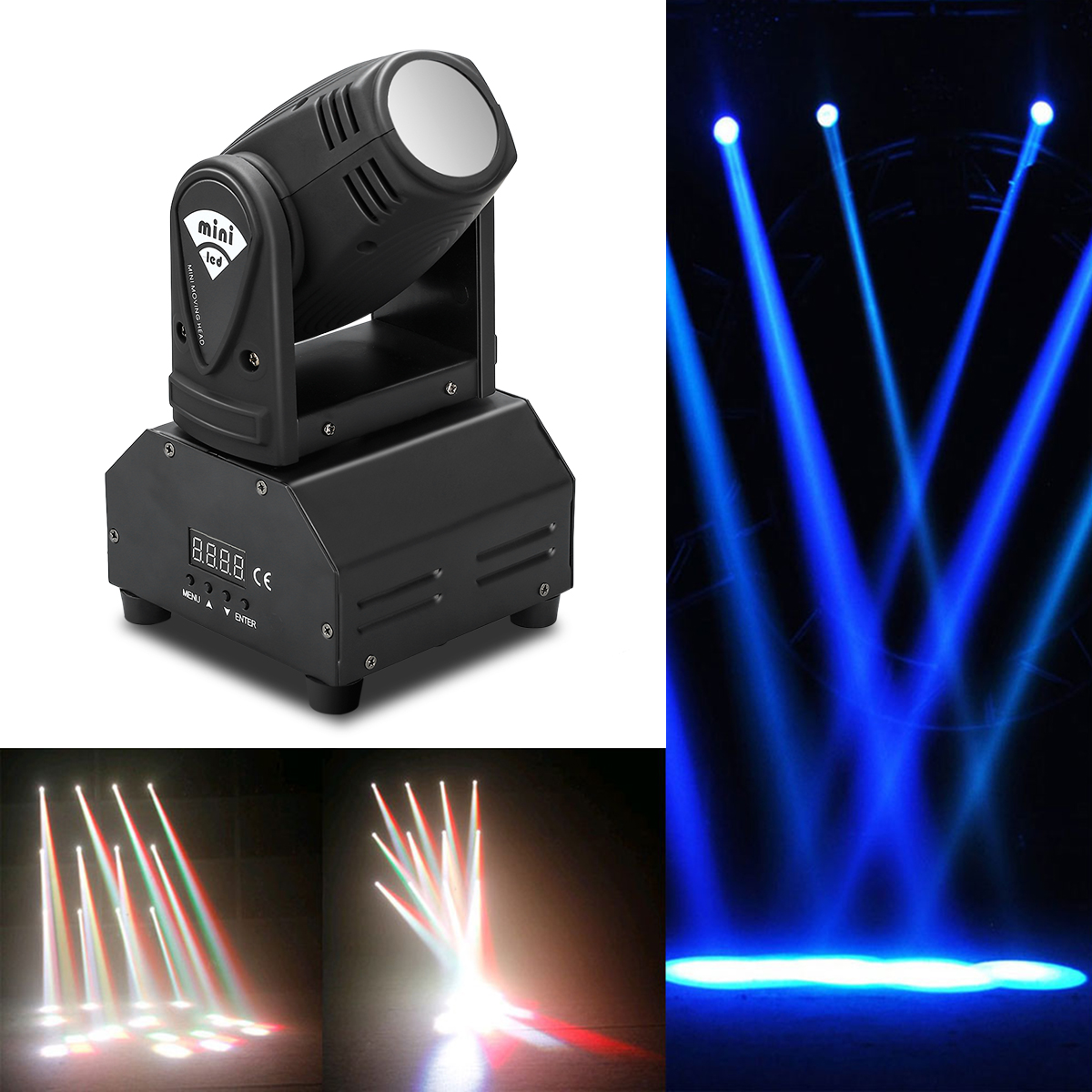 Mini Dj Strobe Light 20w Compact Led Strobe Light Professional Powerful Disco Strobe Effects Stage Lighting For Nightclub Party In Pain Stage Lighting Effect
