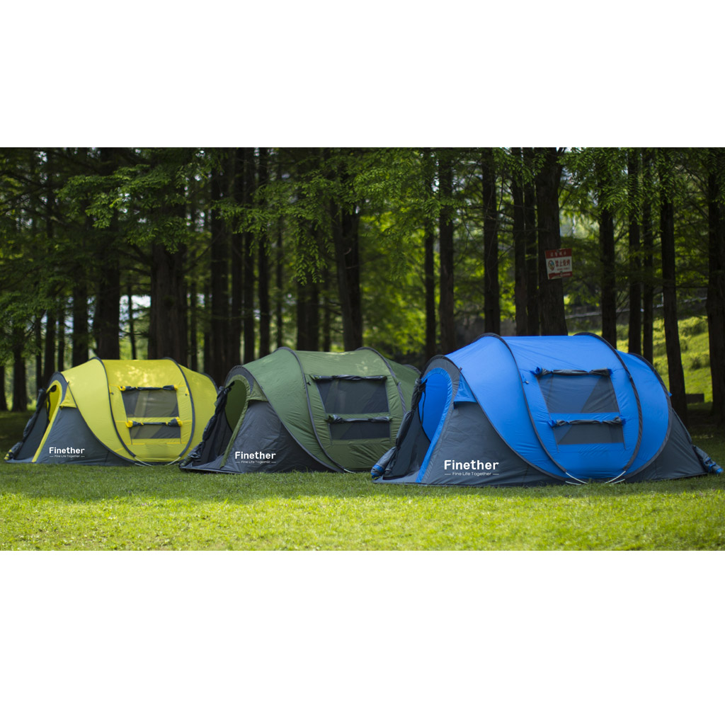 Waterproof 5 Person Instant Pop Up Tent All Seasons