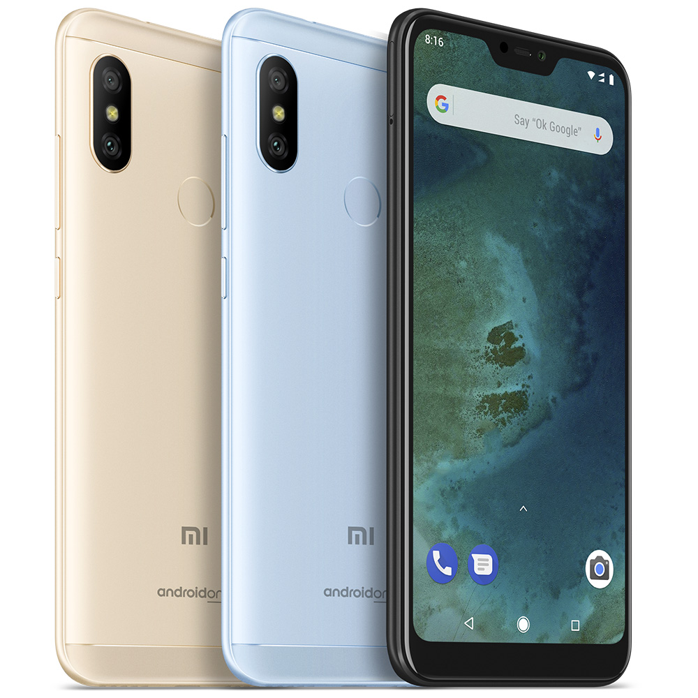 Xiaomi Mi A2 Lite 584 Android Smartphone 3gb 32gb Phablet Triple 4c White As A Features Inch Display Afford You Vivid And Different Visual Experience Cameras 120mp 50mp Dual Back