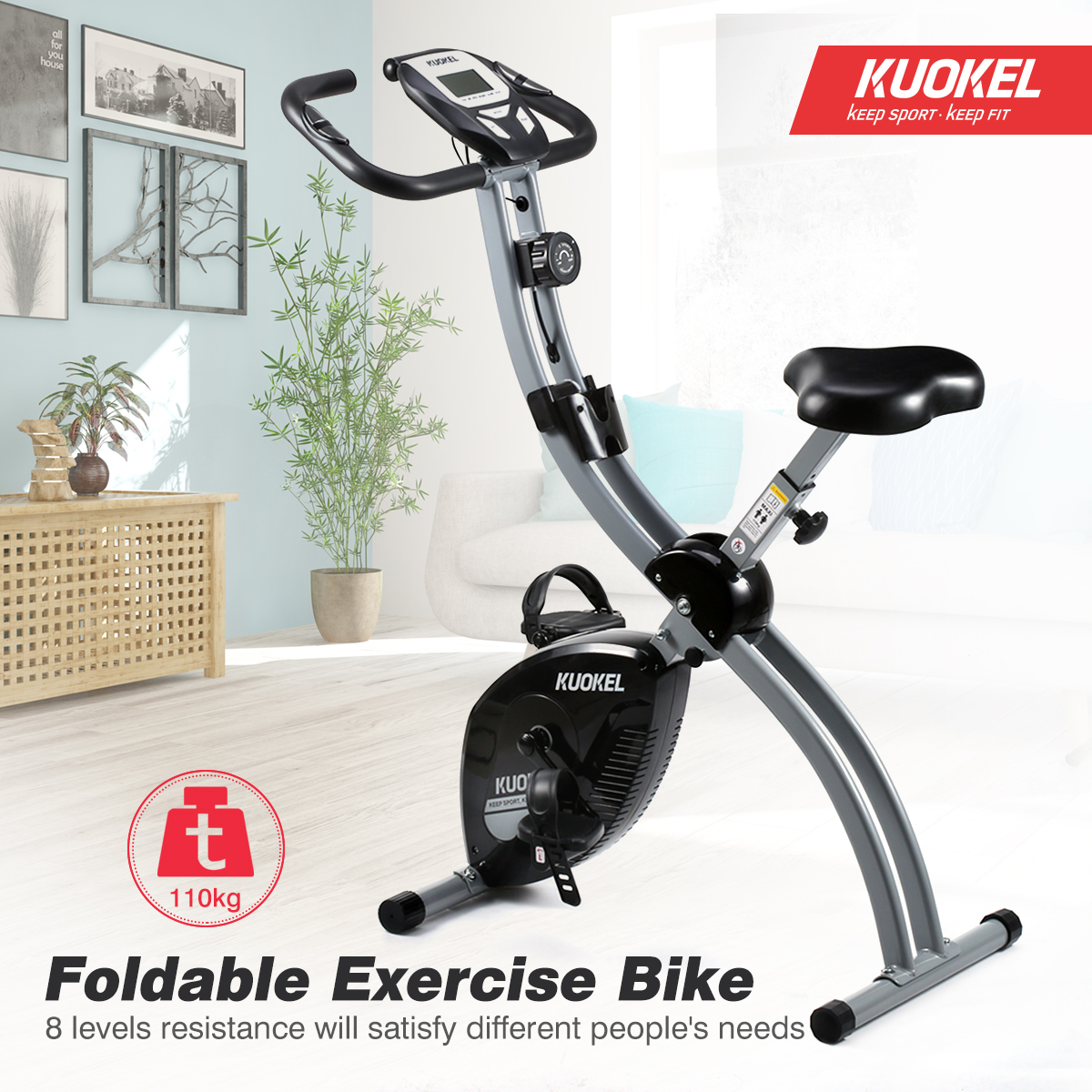 Remarkable Details About Foldable Magnetic Exercise Bike Digital X Bike Home Gym Cardio Fitness Machine A Creativecarmelina Interior Chair Design Creativecarmelinacom